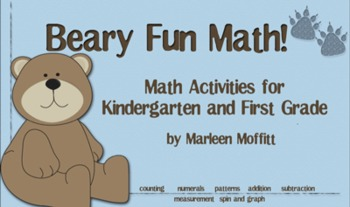 Beary Fun Math!  interactive Smartboard Lessons for K-1st (Notebook 11)