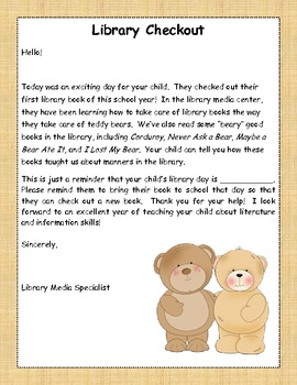 """'Beary"""" Good Fun!: a Library Media Center Introduction"""