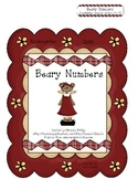Beary Numbers! - Kindergarten - File Folder Game