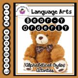 Bear-y Orderly Christmas Alphabetical Order Practice