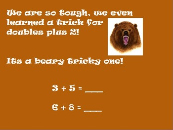 Beary Smart Addition Strategies Flipchart