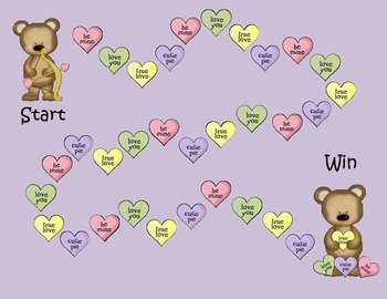 Beary Special Valentine Kinder Skills