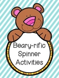 Beary-rific Spinner Activities