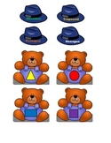 Beary's Top Hat Shapes