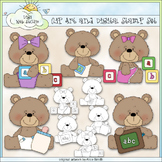 Beasley Baby Bears 1 - Commercial Use Clip Art & Black & White Images