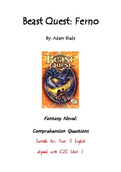 Beast Quest: FERNO | comprehension questions