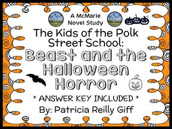 Beast and the Halloween Horror (Patricia Reilly Giff) Novel Study  (23 pages)