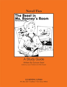 Beast in Ms. Rooney's Room - Novel-Ties Study Guide