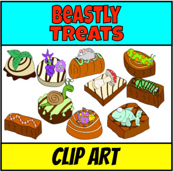 Beastly Treats Clip Art