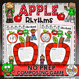 Apple Rhythm (No Prep Composing Game)