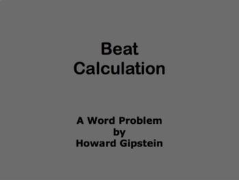 Beat Calculation