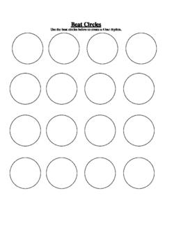 Beat Circles Composition Worksheet