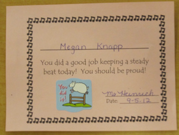 Beat Keeper Award (4 per sheet)
