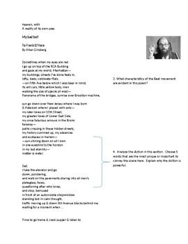 Beat Poetry Packet
