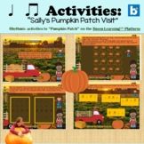 """Beat/Rhythm Activities with """"Pumpkin Patch-Boom Cards™ for"""