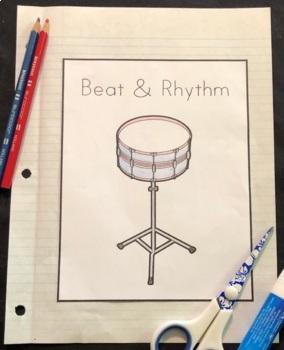 Beat & Rhythm Interactive Notebook - Grade 1