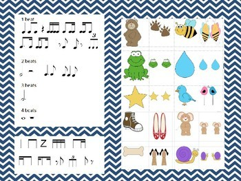 Beat & Rhythm Strips for Composition-Standard, Stick, and Iconic Notation