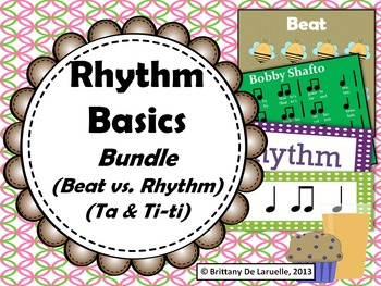 Rhythm Basics MEGA-Bundle - Songs & Activities for beat, rhythm, ta, & ti-ti