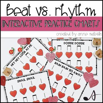 Beat VS. Rhythm Practice Charts