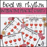 Beat Vs. Rhythm Practice - Kindergarten and 1st Grade Music Set