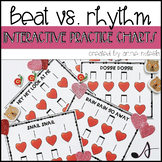 Beat VS. Rhythm Practice Charts