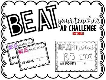Beat Your Teacher AR Challenge