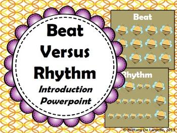 Beat Versus Rhythm Introduction - PDF