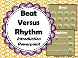 Beat Versus Rhythm Introduction - PDF