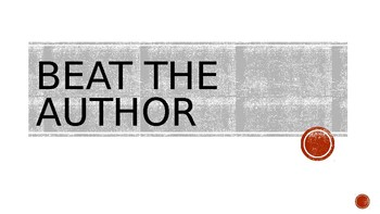 Beat the Author PPT