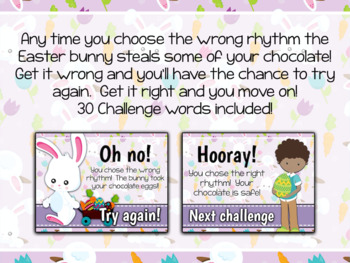Interactive PDF - Beat the Bunny Easter Bunny Rhythm Game