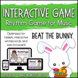 Interactive Rhythm Game - Beat the Bunny Easter Bunny Rhythm Game