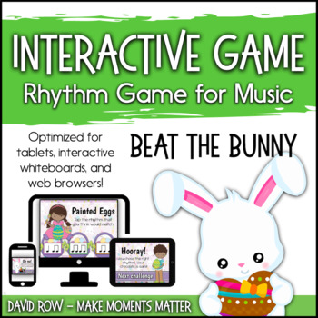 Beat the Bunny - Easter Bunny Interactive PDF game to iden