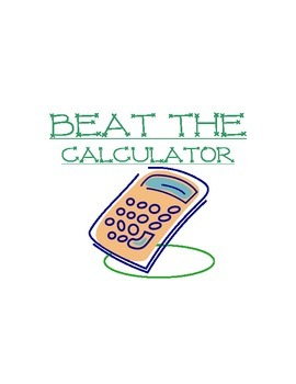 Beat the Calculator
