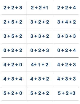 Beat the Calculator Cards Set 2