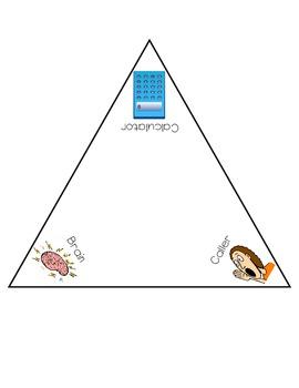 Beat the Calculator Turn Triangle