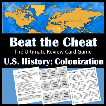 Beat the Cheat- The Ultimate Review Card Game: Colonization