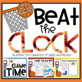 Beat the Clock CCSS Math Cumulative Review 2nd Grade