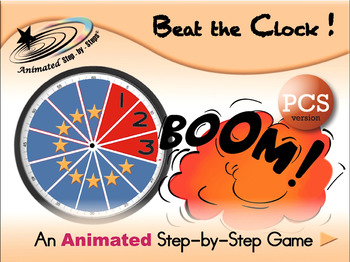 Beat the Clock - Animated Step-by-Step Game - PCS