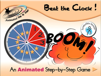 Beat the Clock - Animated Step-by-Step Game - SymbolStix