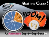 Beat the Clock - Animated Step-by-Step Game - VI