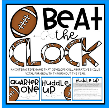 Beat the Clock- Back to School Edition