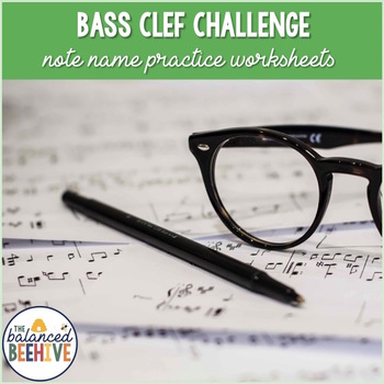 Beat the Clock Bass Challenge - Bass Clef Note Identification Practice