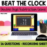 Beat the Clock: Double Digit Subtraction
