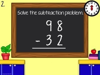 Beat the Clock: Double Digit Subtraction