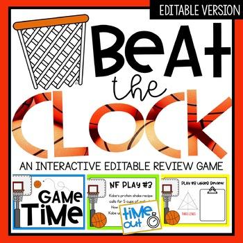 Beat the Clock Editable Game