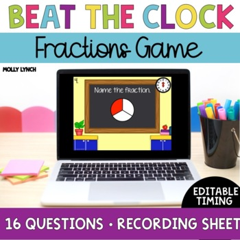 Beat the Clock: Fractions