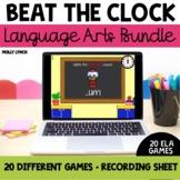 Beat the Clock Language Arts Bundle