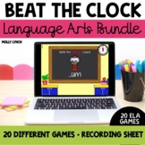 Beat the Clock Language Arts Bundle