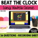 Beat the Clock Long Vowels