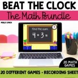 Beat the Clock Math Bundle